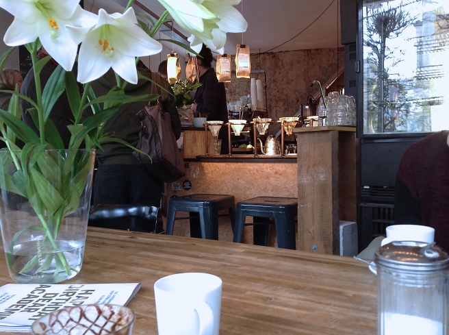 Antwerp coffee shop