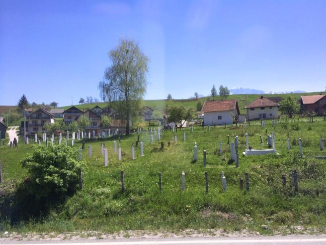 Just outside Sarajevo