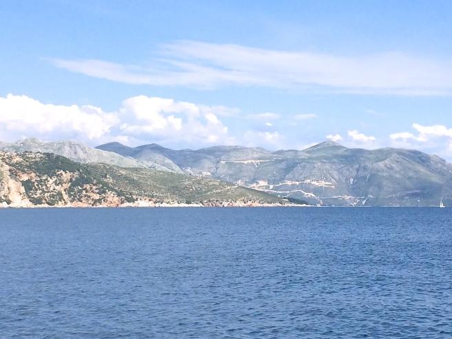 En route Dubrovnik to Lokrum