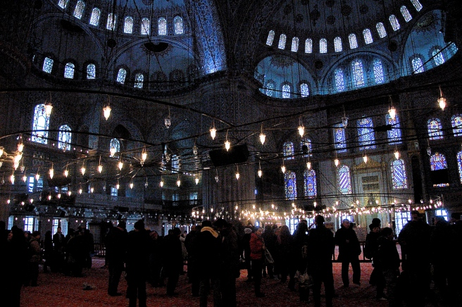 I would like to say this is the Blue Mosque...