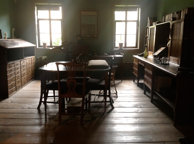 Goethe's writing room