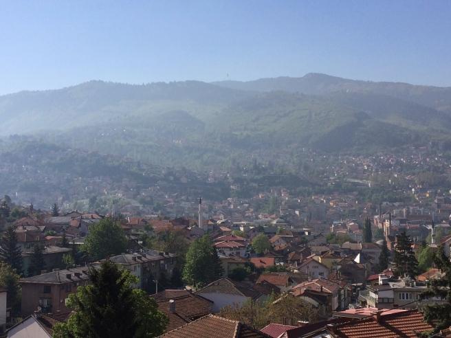 View from Villa Una