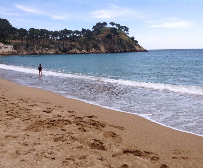 My Catalonian Friend got so offended when I said these beaches reminded me of English beaches.