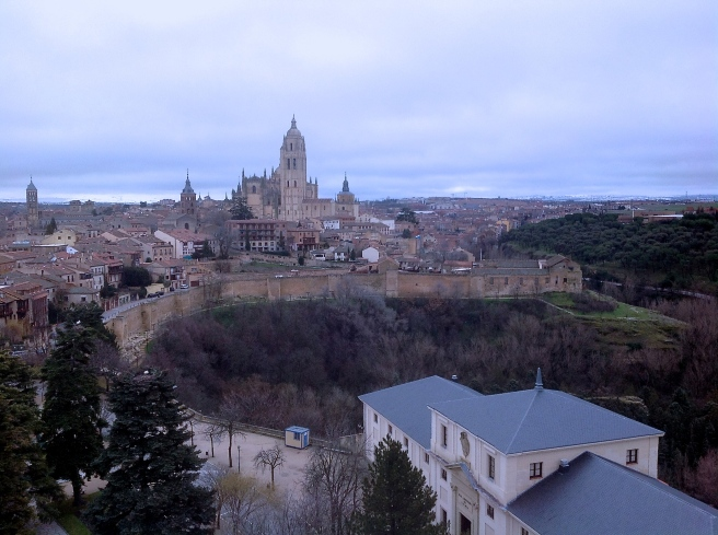 View from Alcázar de Segovia