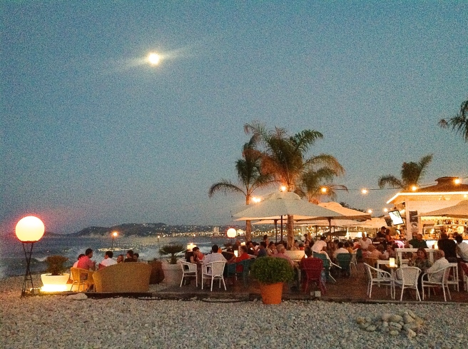 Moskito beach bar