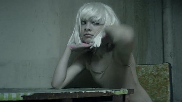 Sia music video chandelier johanna juni google search image idolator mozeypictures Gallery