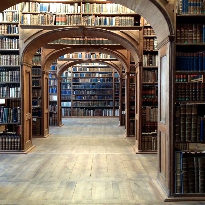 Oberlausitzische library . . . I love beautiful libraries