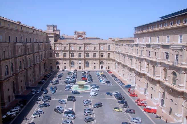 Vatican parking