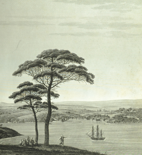 A view of the Bosphorus from Antoine Melling's Voyage pittoresque de Constantinople et des rives du Bosphore (Google image search)