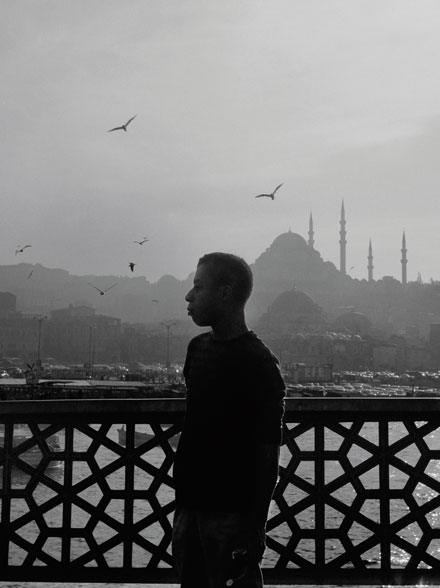 James Baldwin in Istanbul (Google image search)
