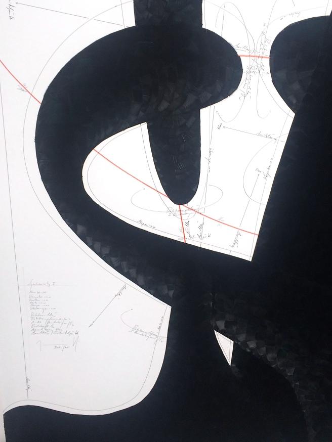 Jorinde Voigt (detail) König Galerie stall ABC Contemporary 2015