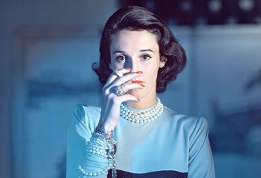 Google image search of Babe Paley... whose bad blood friendship was the last thing on his mind before death